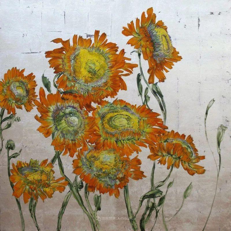 与花为邻,与草木为伍,她的画室充满大自然的灵气插图95