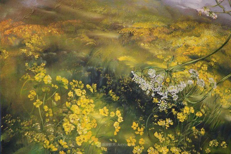 与花为邻,与草木为伍,她的画室充满大自然的灵气插图97