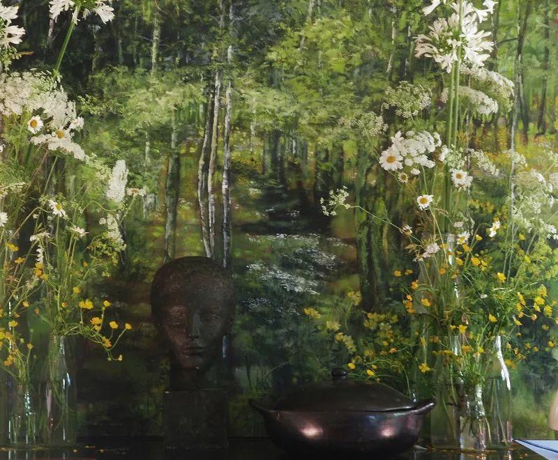 与花为邻,与草木为伍,她的画室充满大自然的灵气插图99