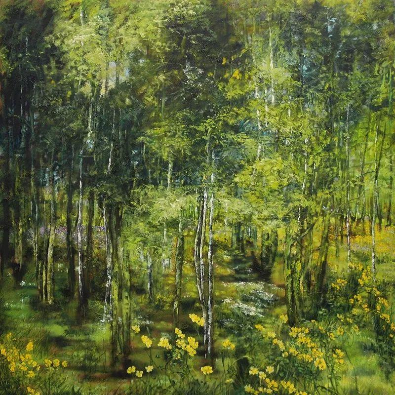 与花为邻,与草木为伍,她的画室充满大自然的灵气插图101