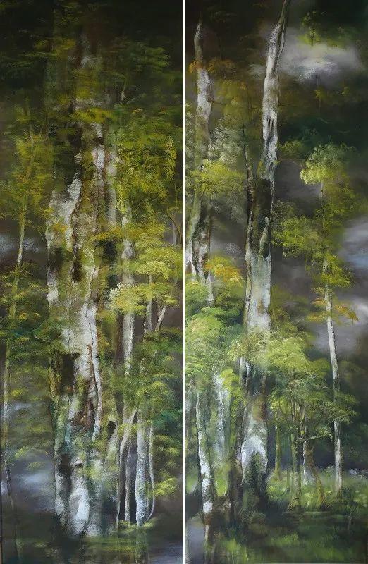 与花为邻,与草木为伍,她的画室充满大自然的灵气插图103