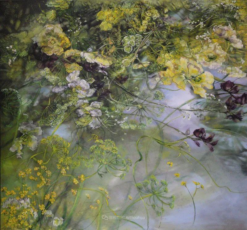 与花为邻,与草木为伍,她的画室充满大自然的灵气插图109