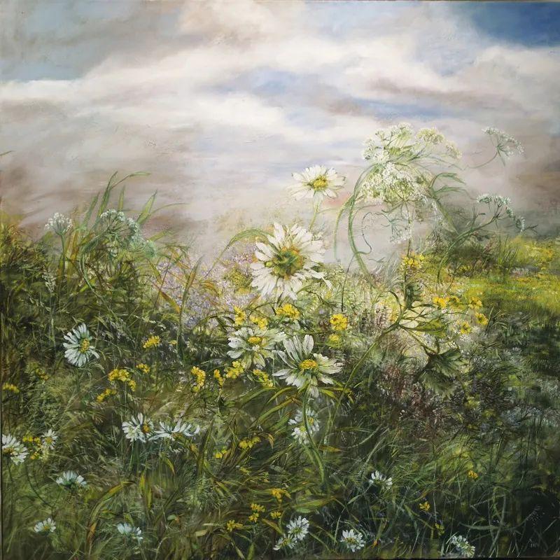 与花为邻,与草木为伍,她的画室充满大自然的灵气插图111