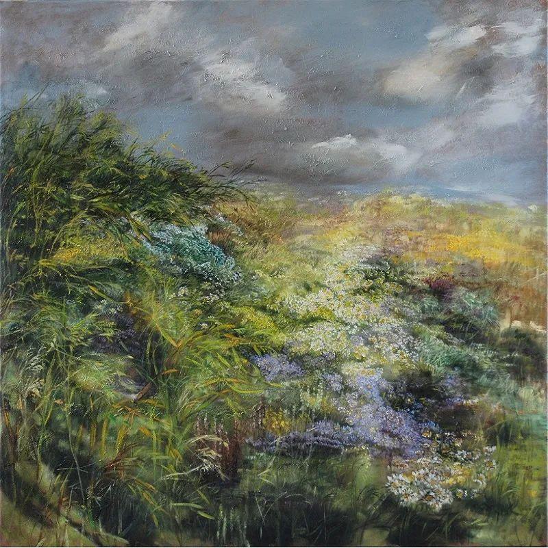 与花为邻,与草木为伍,她的画室充满大自然的灵气插图113