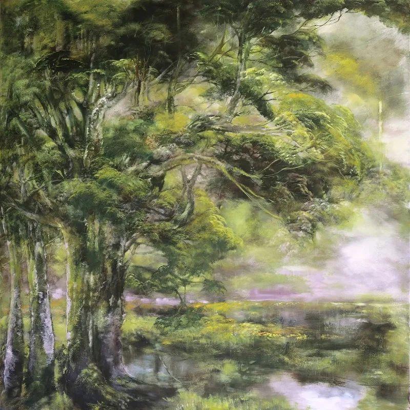 与花为邻,与草木为伍,她的画室充满大自然的灵气插图115