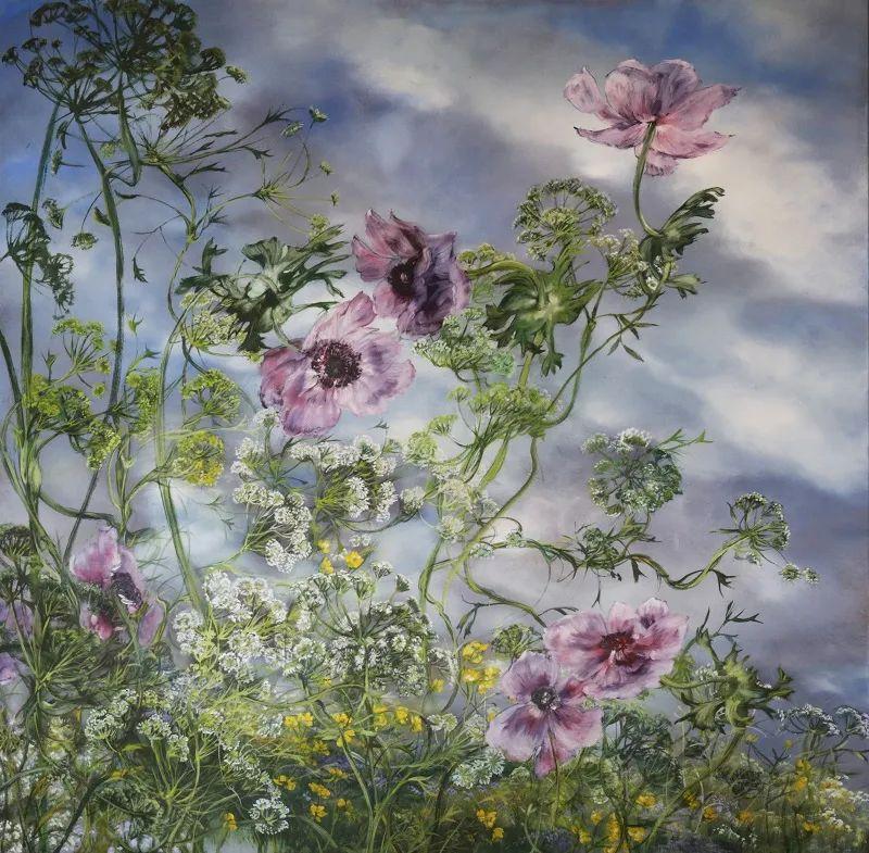 与花为邻,与草木为伍,她的画室充满大自然的灵气插图121