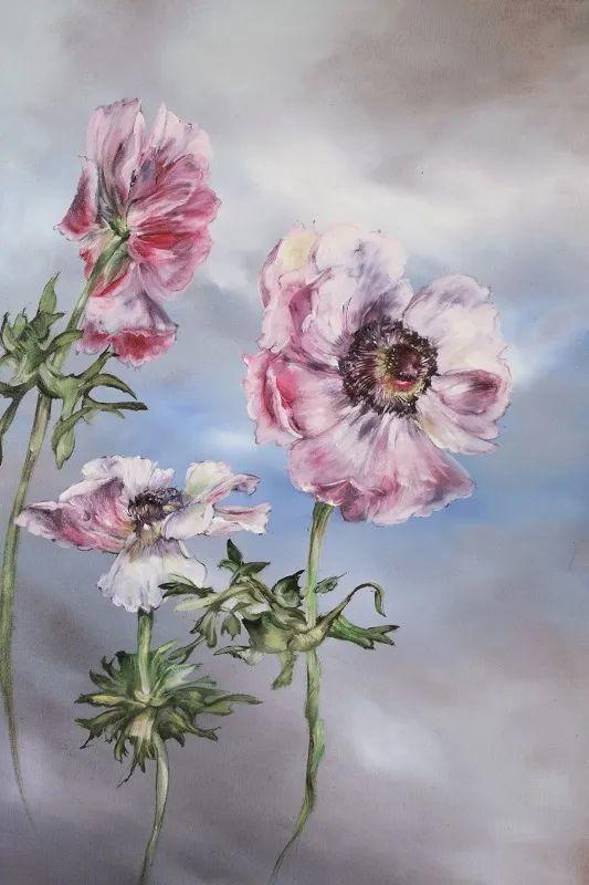 与花为邻,与草木为伍,她的画室充满大自然的灵气插图123