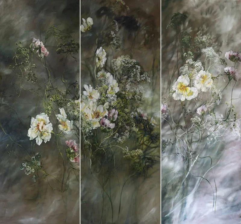 与花为邻,与草木为伍,她的画室充满大自然的灵气插图125