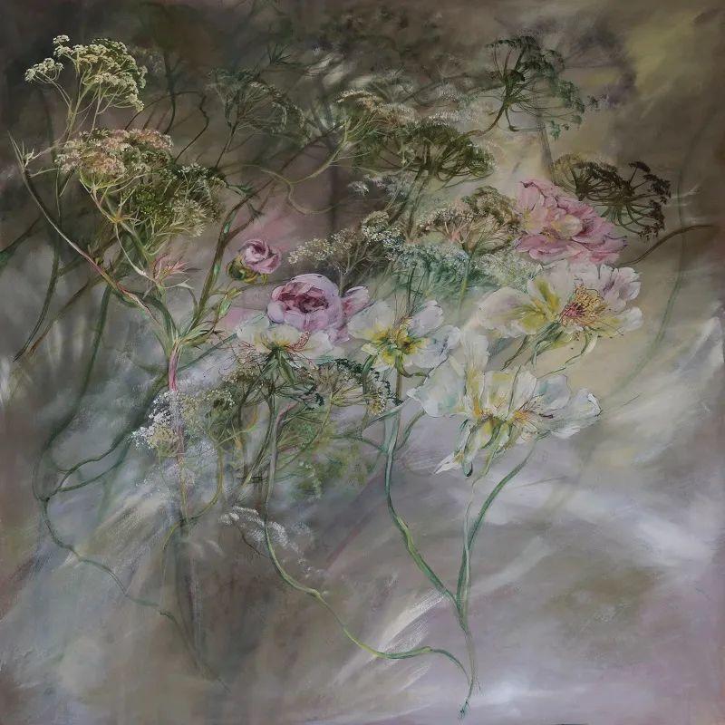 与花为邻,与草木为伍,她的画室充满大自然的灵气插图127