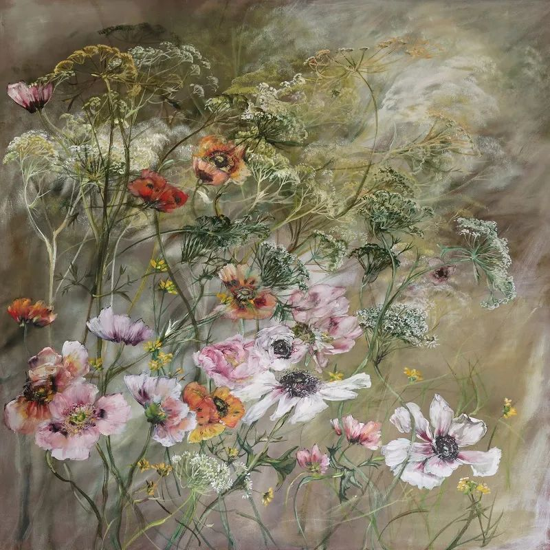 与花为邻,与草木为伍,她的画室充满大自然的灵气插图129