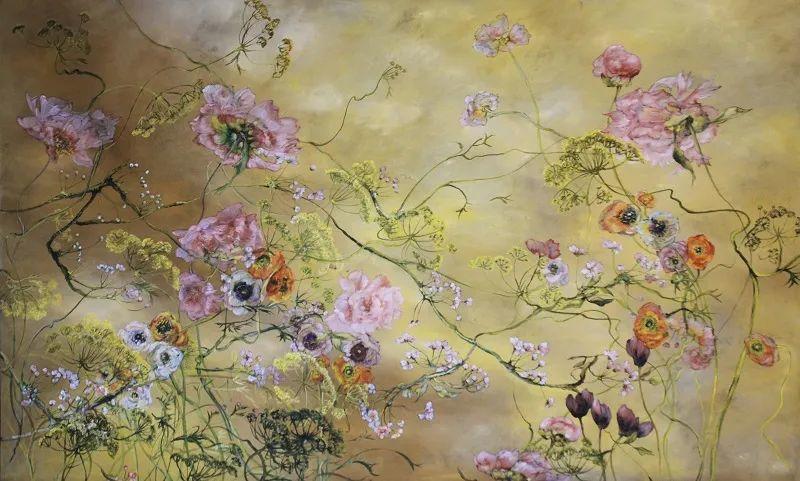 与花为邻,与草木为伍,她的画室充满大自然的灵气插图133