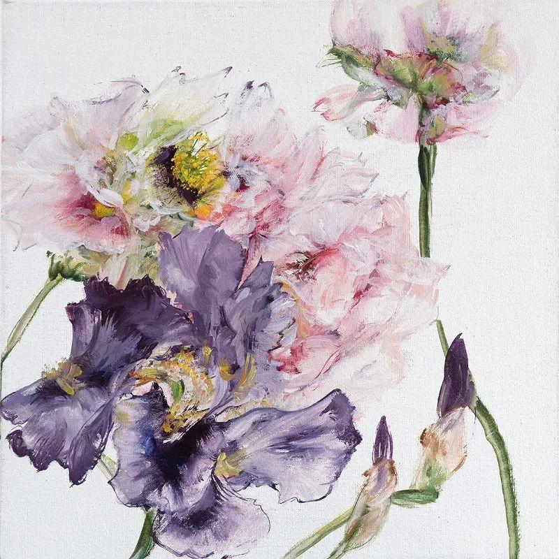 与花为邻,与草木为伍,她的画室充满大自然的灵气插图135