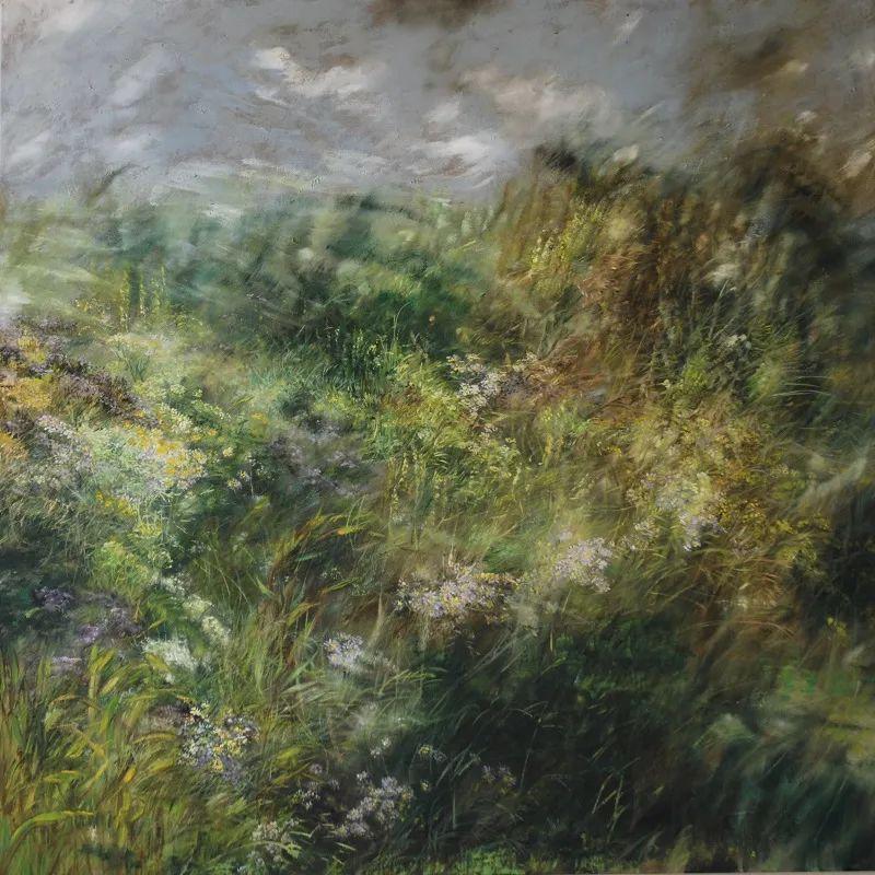 与花为邻,与草木为伍,她的画室充满大自然的灵气插图139