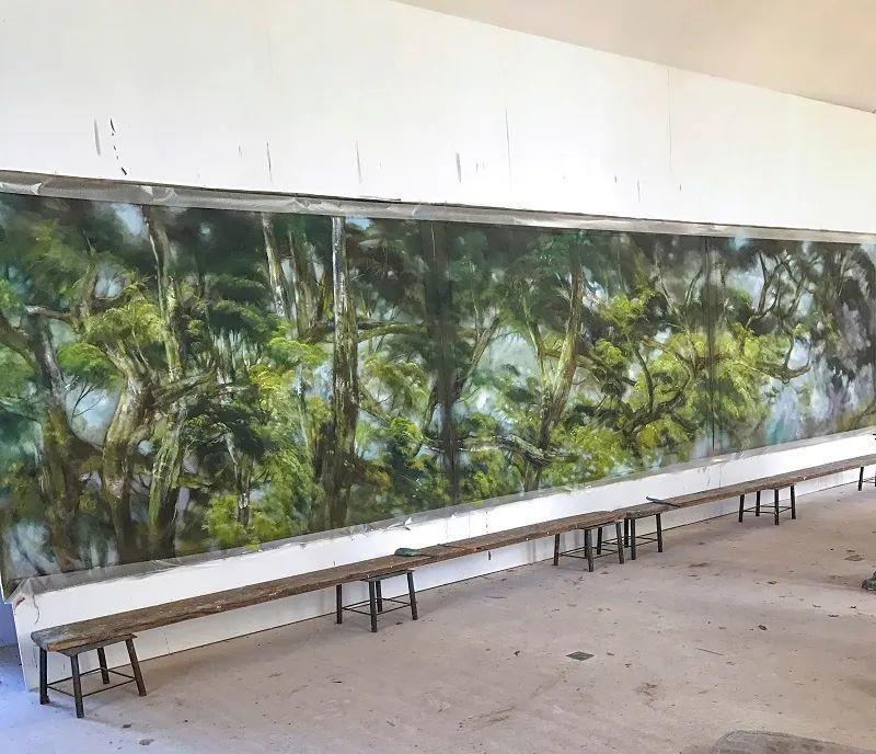 与花为邻,与草木为伍,她的画室充满大自然的灵气插图145