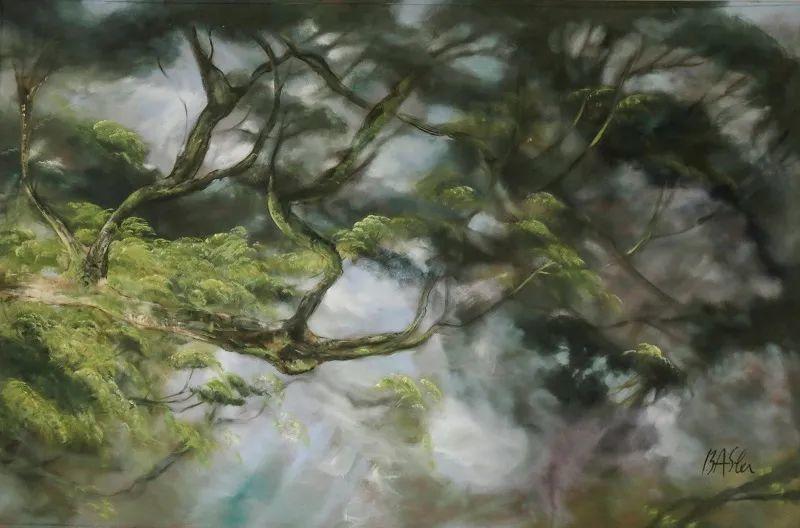 与花为邻,与草木为伍,她的画室充满大自然的灵气插图147