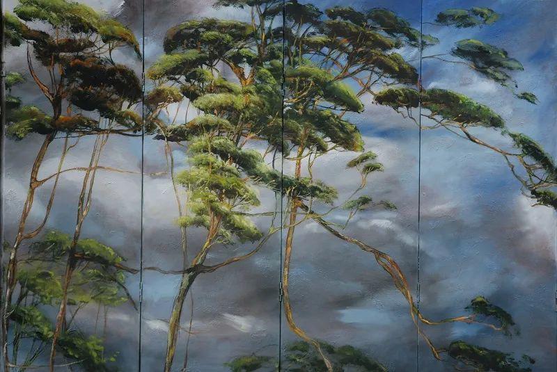与花为邻,与草木为伍,她的画室充满大自然的灵气插图153