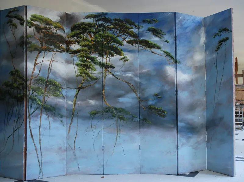 与花为邻,与草木为伍,她的画室充满大自然的灵气插图155