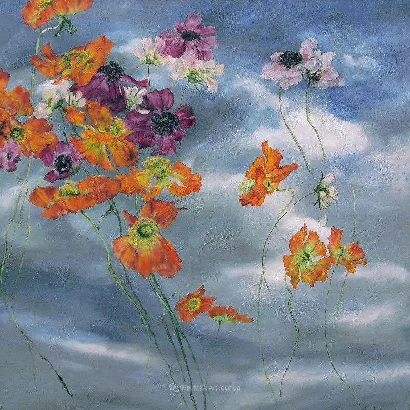 与花为邻,与草木为伍,她的画室充满大自然的灵气插图157