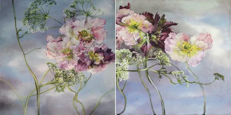与花为邻,与草木为伍,她的画室充满大自然的灵气插图161