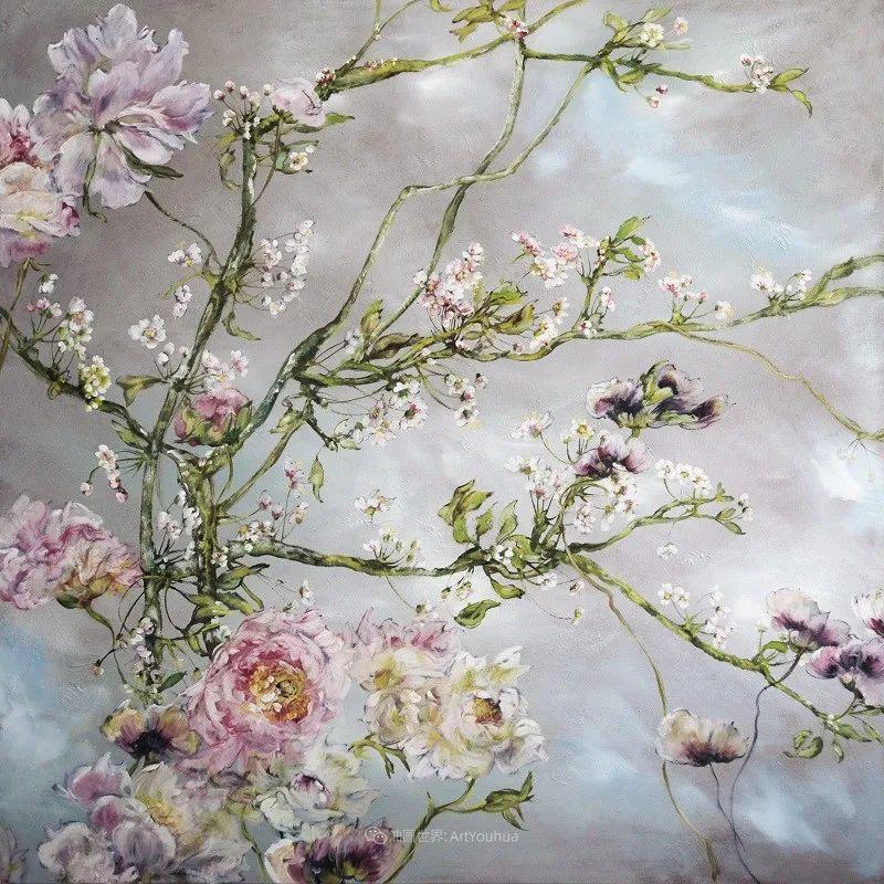 与花为邻,与草木为伍,她的画室充满大自然的灵气插图163