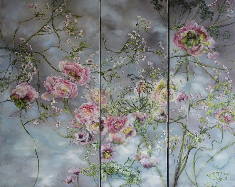 与花为邻,与草木为伍,她的画室充满大自然的灵气插图165