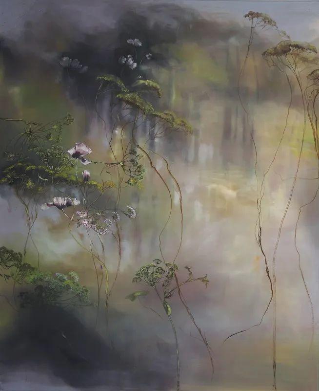 与花为邻,与草木为伍,她的画室充满大自然的灵气插图167