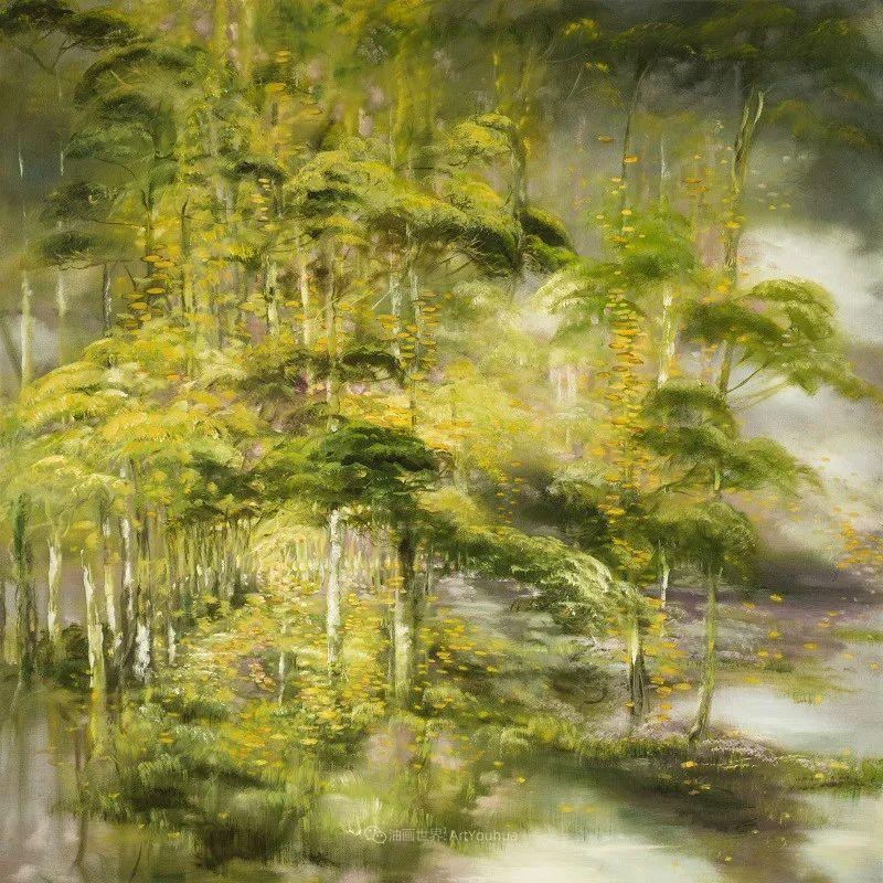 与花为邻,与草木为伍,她的画室充满大自然的灵气插图169