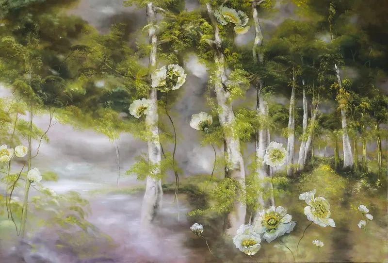 与花为邻,与草木为伍,她的画室充满大自然的灵气插图171