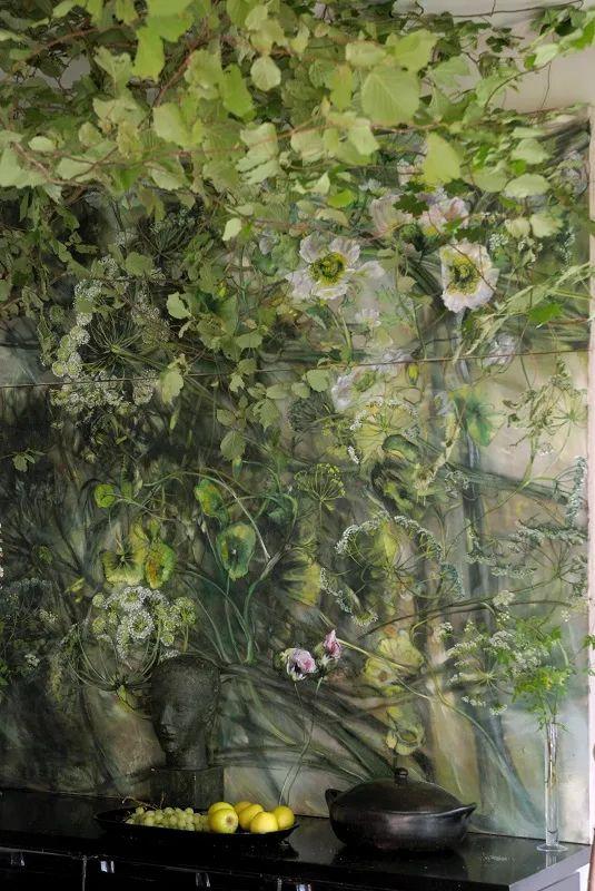 与花为邻,与草木为伍,她的画室充满大自然的灵气插图173