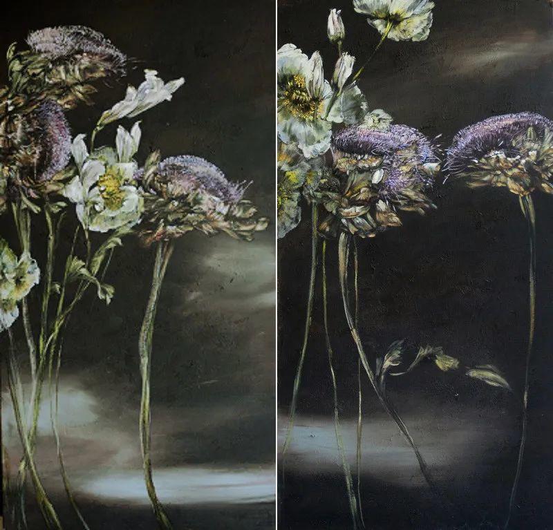与花为邻,与草木为伍,她的画室充满大自然的灵气插图175