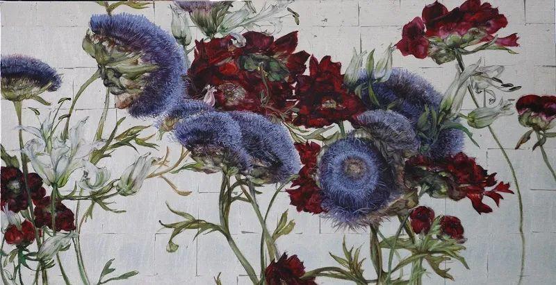 与花为邻,与草木为伍,她的画室充满大自然的灵气插图177