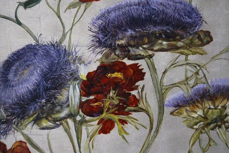与花为邻,与草木为伍,她的画室充满大自然的灵气插图179