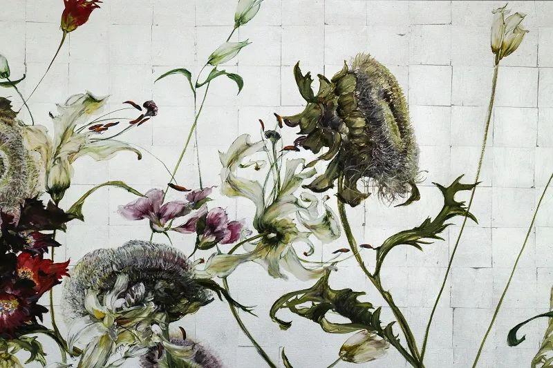 与花为邻,与草木为伍,她的画室充满大自然的灵气插图181