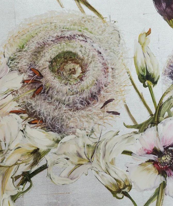 与花为邻,与草木为伍,她的画室充满大自然的灵气插图183