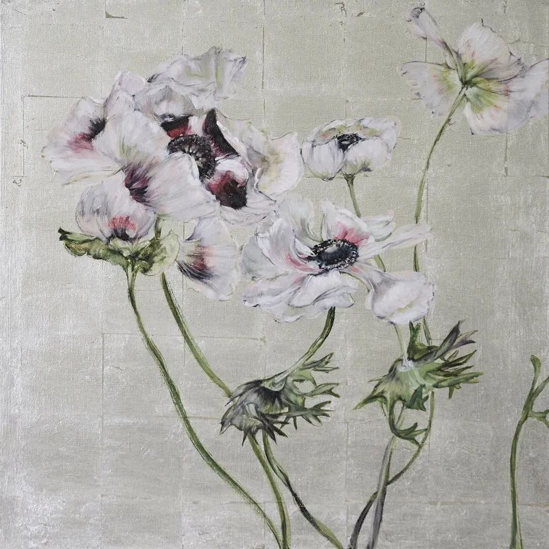 与花为邻,与草木为伍,她的画室充满大自然的灵气插图185