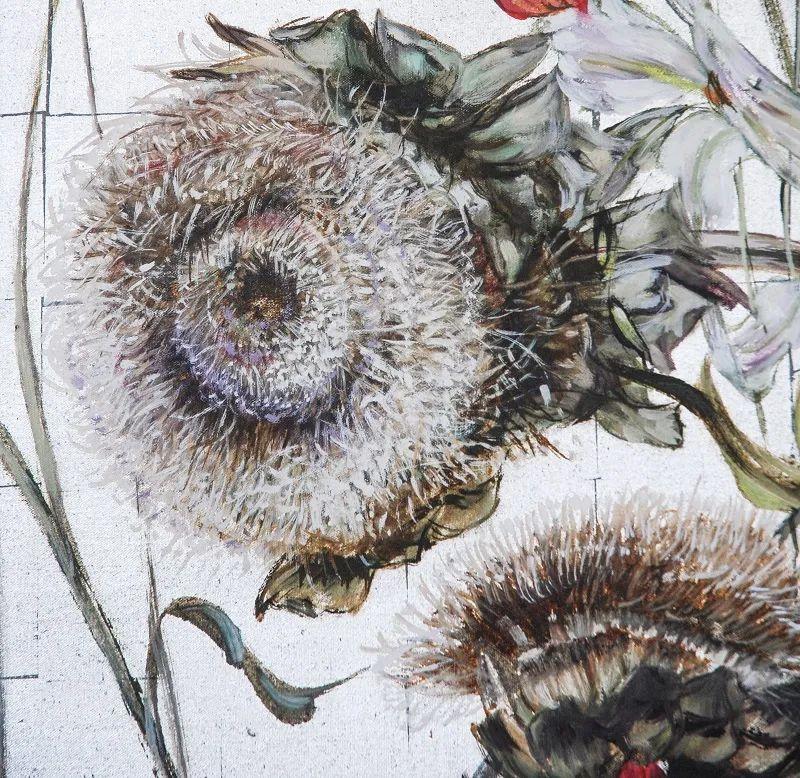 与花为邻,与草木为伍,她的画室充满大自然的灵气插图187