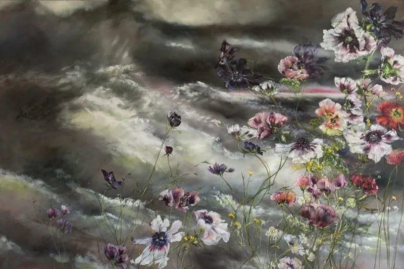 与花为邻,与草木为伍,她的画室充满大自然的灵气插图189