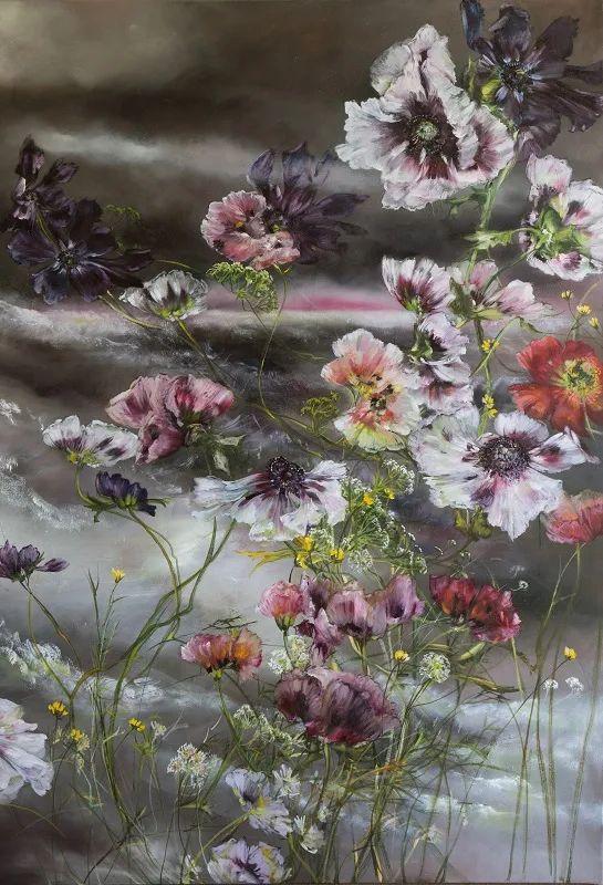 与花为邻,与草木为伍,她的画室充满大自然的灵气插图191
