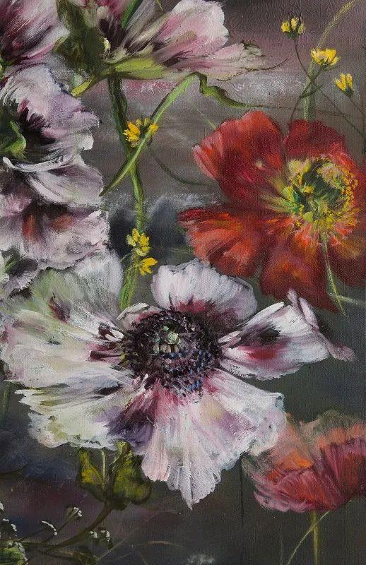 与花为邻,与草木为伍,她的画室充满大自然的灵气插图193