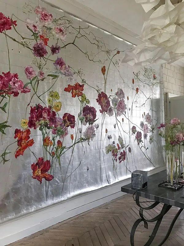 与花为邻,与草木为伍,她的画室充满大自然的灵气插图195