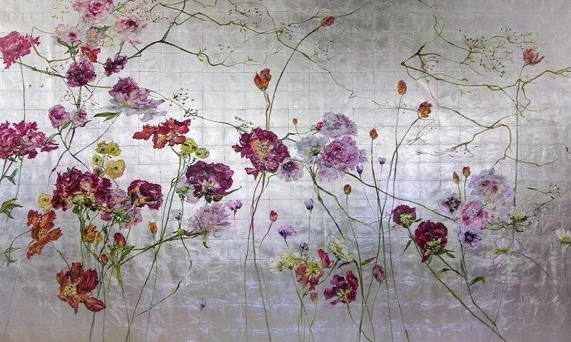 与花为邻,与草木为伍,她的画室充满大自然的灵气插图197