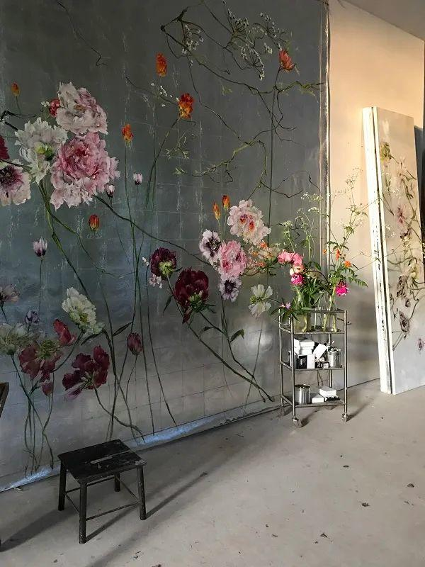 与花为邻,与草木为伍,她的画室充满大自然的灵气插图199