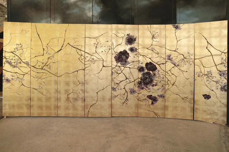 与花为邻,与草木为伍,她的画室充满大自然的灵气插图203