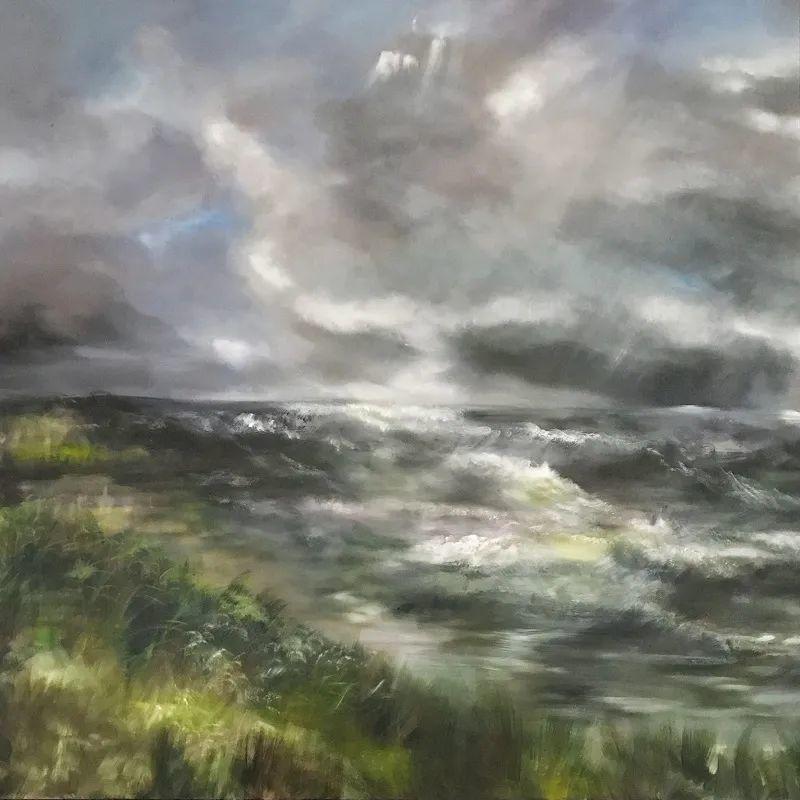 与花为邻,与草木为伍,她的画室充满大自然的灵气插图205