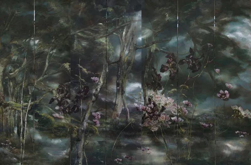 与花为邻,与草木为伍,她的画室充满大自然的灵气插图211