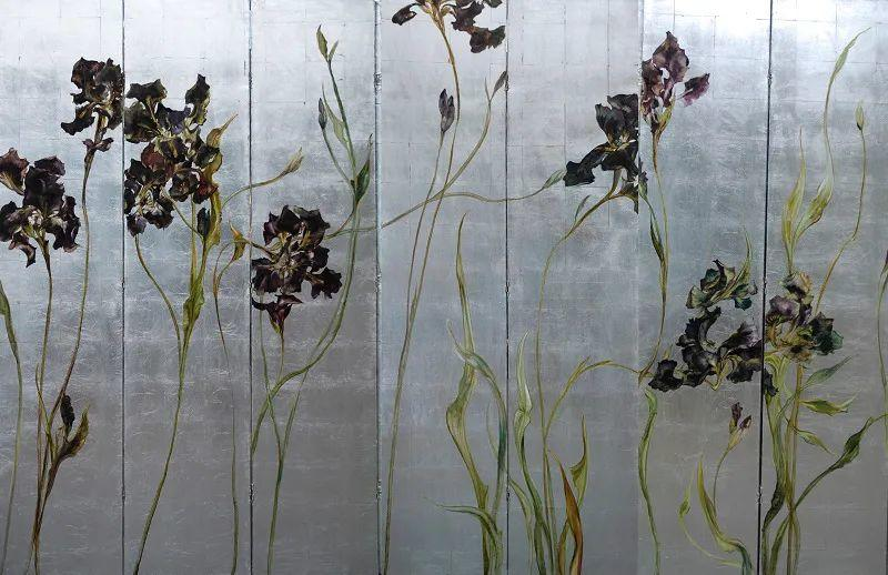 与花为邻,与草木为伍,她的画室充满大自然的灵气插图213