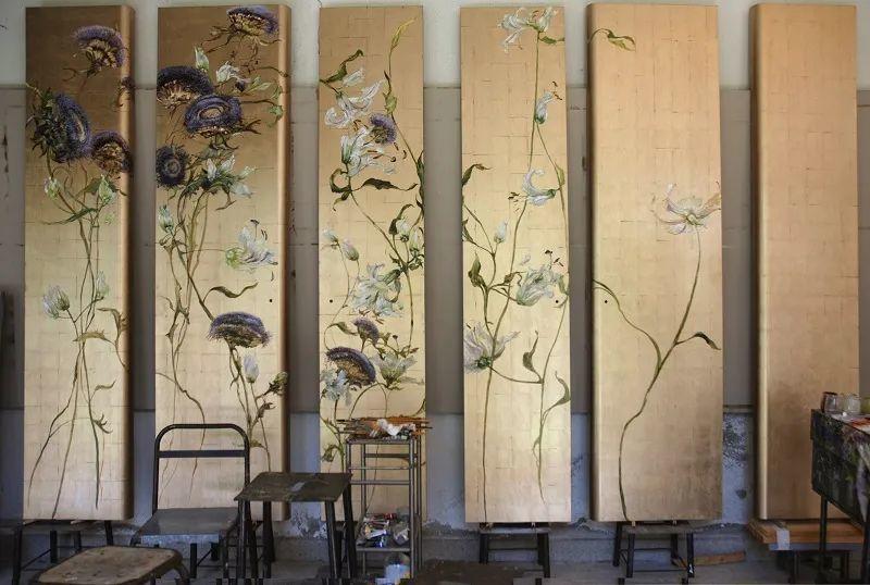 与花为邻,与草木为伍,她的画室充满大自然的灵气插图215