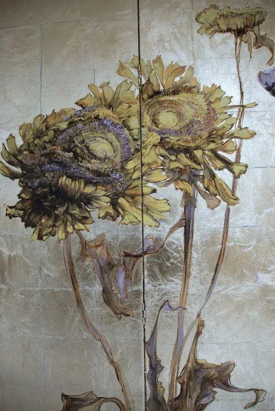 与花为邻,与草木为伍,她的画室充满大自然的灵气插图217