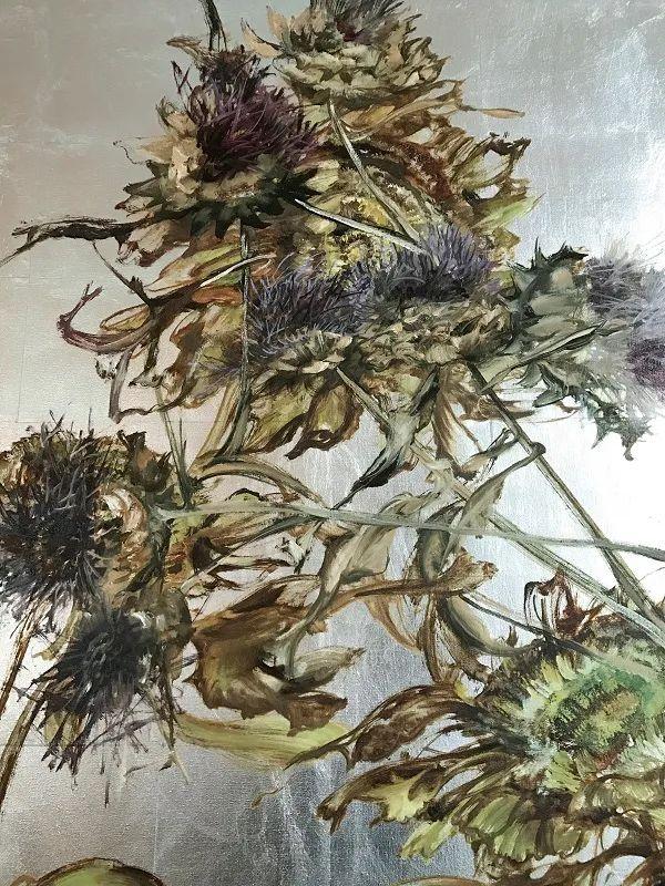 与花为邻,与草木为伍,她的画室充满大自然的灵气插图219
