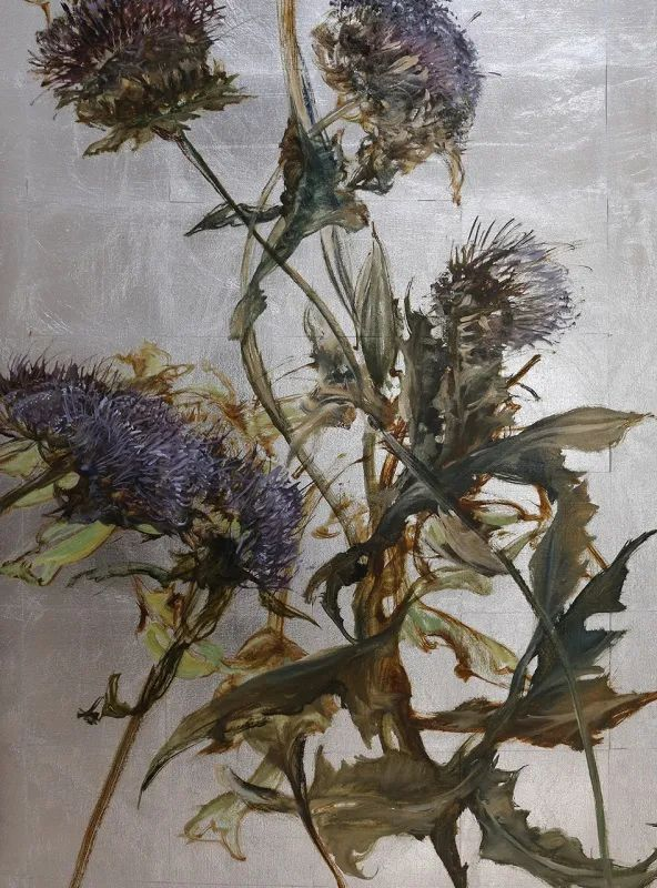 与花为邻,与草木为伍,她的画室充满大自然的灵气插图221